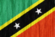 Saint Kitts and Nevis flag - small - style 2