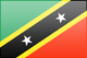 Saint Kitts and Nevis free flag (small)