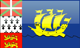 Saint Pierre flag - small - style 4
