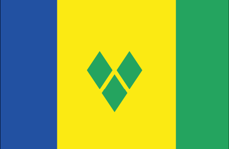Saint Vicent and the Grenadines flag - large - style 1