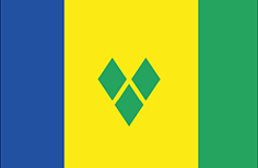 Saint Vicent and the Grenadines flag - medium - style 1