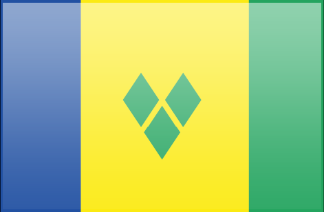 Saint Vicent and the Grenadines flag - large - style 3