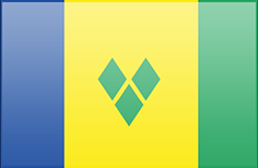 Saint Vicent and the Grenadines flag - medium - style 3