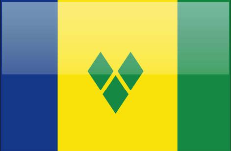 Saint Vicent and the Grenadines flag - large - style 4