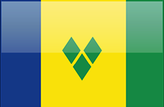 Saint Vicent and the Grenadines flag - medium - style 4