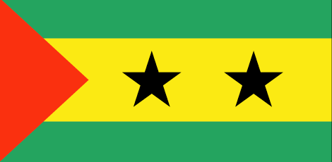 Sao Tome and Principe flag - large - style 1