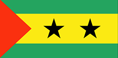 Sao Tome and Principe flag - medium - style 1
