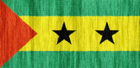 Sao Tome and Principe flag - large - style 2