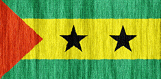 Sao Tome and Principe flag - medium - style 2