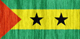 Sao Tome and Principe flag - small - style 2