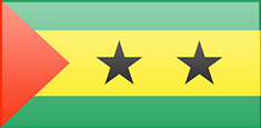 Sao Tome and Principe flag - medium - style 3