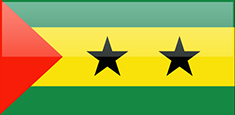 Sao Tome and Principe flag - medium - style 4