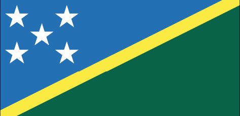 Soloman Islands flag - large - style 1