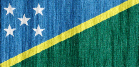 Soloman Islands flag - large - style 2