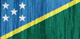Soloman Islands free flag (small)