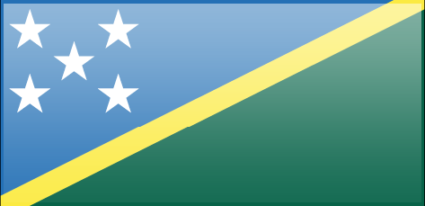 Soloman Islands flag - large - style 3