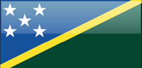 Soloman Islands flag - large - style 4
