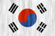 South Korea flag - small - style 2