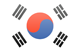 South Korea flag - small - style 3