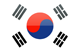South Korea flag - small - style 4