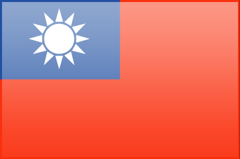 Taiwan flag - large - style 3