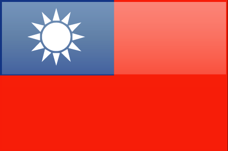 Taiwan flag - large - style 4