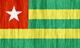 Togo flag - small - style 2