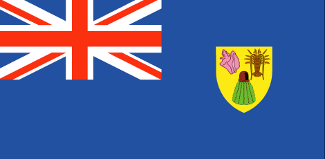 Turks and Caicos Islands free flag (large)