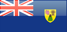 Turks and Caicos Islands free flag (medium)