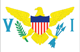 US Virgin Islands free flag (small)