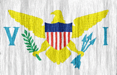 US Virgin Islands flag - medium - style 2