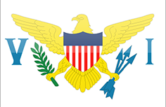 US Virgin Islands flag - medium - style 4