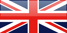 United Kingdom flag - medium - style 4