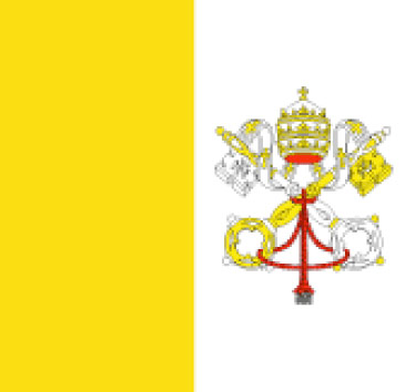 Vatican City flag - large - style 1