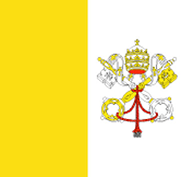 Vatican City flag - medium - style 1