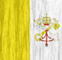 Vatican City flag - small - style 2