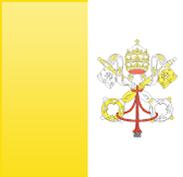 Vatican City flag - medium - style 3