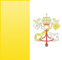 Vatican City flag - small - style 3