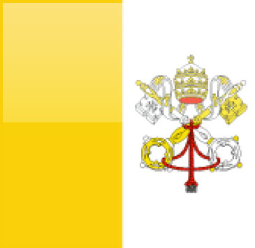 Vatican City flag - large - style 4