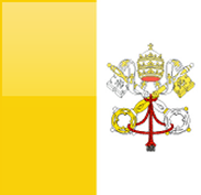 Vatican City flag - medium - style 4