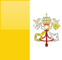 Vatican City flag - small - style 4